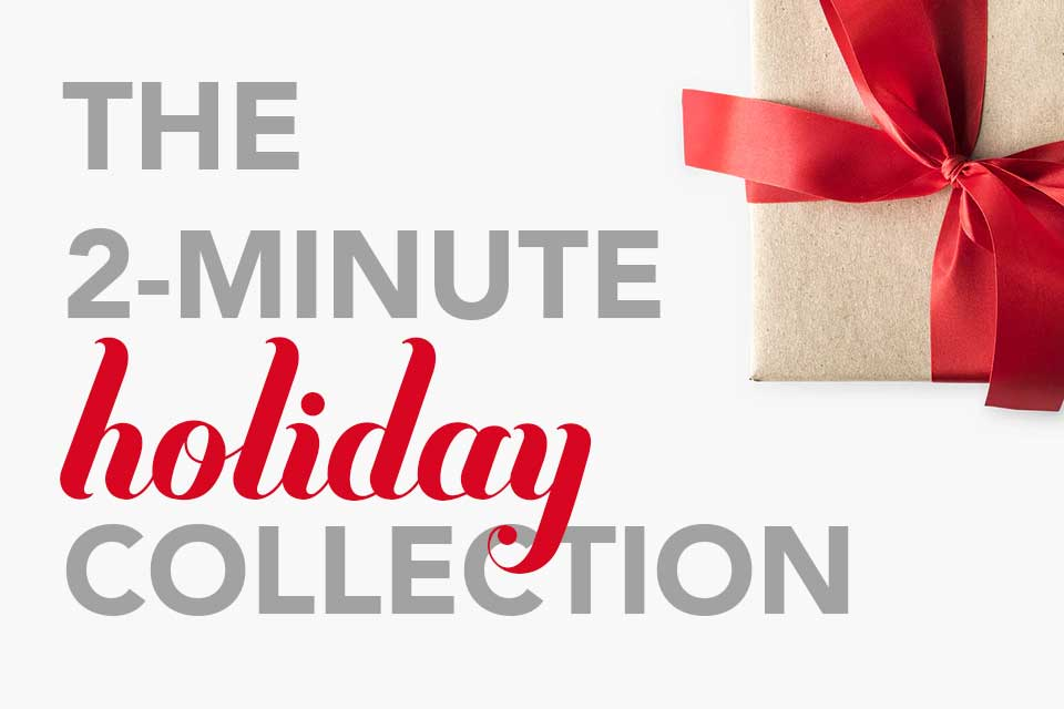 The 2-minute group gift collection