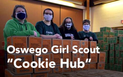 Collection Spotlight: Oswego Girl Scouts adapt to COVID Market with Cheddar Up